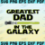 Greatest dad in the Galaxy SVG, FATHER DAY SVG, Star Wars svg, Clip Art, Daddy