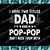 I Have Two Titles Dad And Pop-pop And I Rock Them Both Funny Father's day SVG