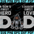 Chicago Bears DAD a Son's First Hero Daughter's First Love svg, Father's Day