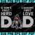 Cleveland Browns DAD a Son's First Hero Daughter's First Love svg, Father's Day