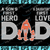Denver Broncos DAD a Son's First Hero Daughter's First Love svg, Father's Day