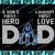 Indianapolis Colts DAD a Son's First Hero Daughter's First Love svg, Father's