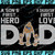 Los Angeles Rams DAD a Son's First Hero Daughter's First Love svg, Father's Day
