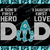 Miami Dolphins DAD a Son's First Hero Daughter's First Love svg, Father's Day
