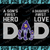 Minnesota Vikings DAD a Son's First Hero Daughter's First Love svg, Father's Day