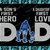 New York Giants DAD a Son's First Hero Daughter's First Love svg, Father's Day