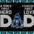 Seattle Seahawks DAD a Son's First Hero Daughter's First Love svg, Father's Day