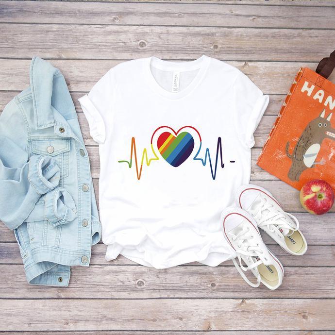 Heartbeat Svg, Lgbt month svg, I am gay svg, Lgbt pride svg, lgbt pride