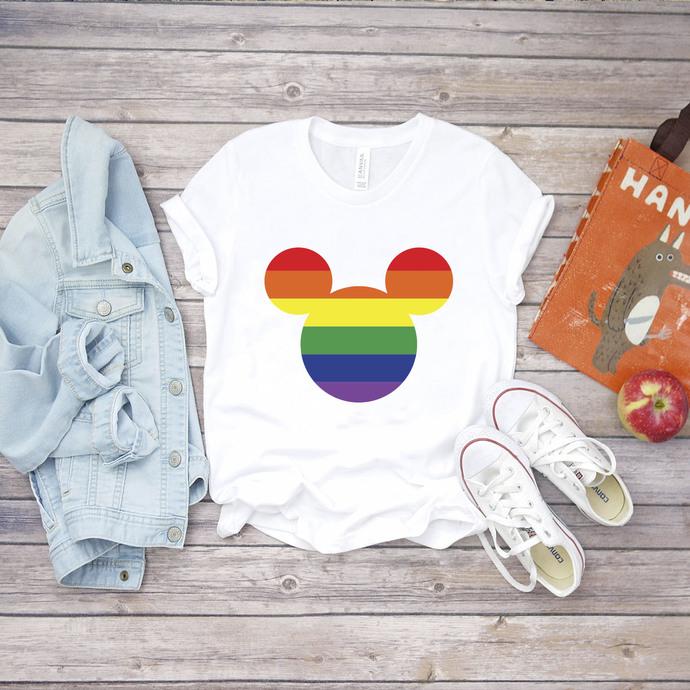 Mickey Svg, Disney, Lgbt month svg, I am gay svg, Lgbt pride svg, lgbt pride