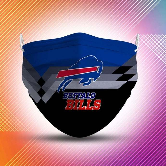 Buffalo Bills Protective Face Mask Cotton mask Washable mask Face Covering