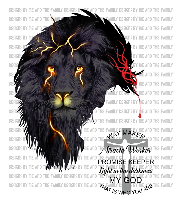 Thunder Lion, Way maker, miracle worker, promise keeper, light in the darkness,