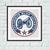 Columbus Blue Jackets ice hockey cross stitch pattern