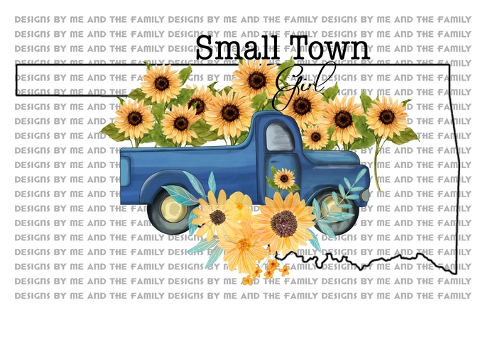 Oklahoma, Small town girl, vintage truck, Sunflowers, Peace love sunflowers,