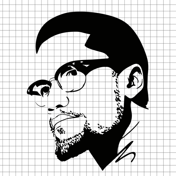 Malcolm x svg, try me svg, malcolm x, black history svg, A man who stand for