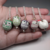 Ceramic Critters Jewelry Set - Necklace + Earrings