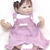 POODLE JUMPER - Knitting Pattern, 3 to 6 Months Jumper Pattern Baby Girls