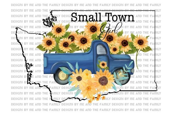 Washington, Small town girl, vintage truck, Sunflowers, Peace love sunflowers,