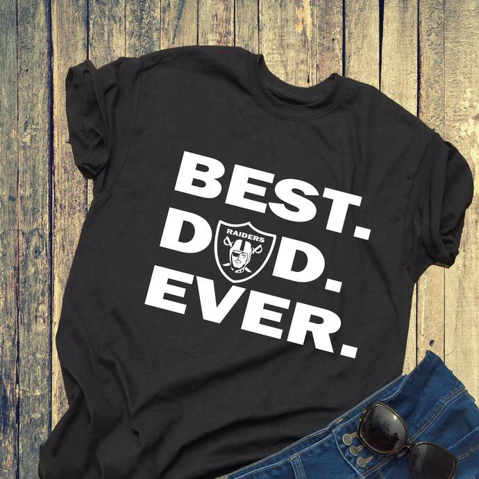 Best dad ever svg, Oakland Raiders svg, Oakland Raiders dad svg, papa svg, gift