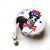 Tape Measure Red White and Blue Dogs Small Retractable Measuring Tapes