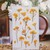 Appree Press Leaf Stickers - Rapeseed Flower, see-through backing PET stickers