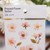 Appree Press Leaf Stickers - Cherry Blossom, see-through backing PET stickers