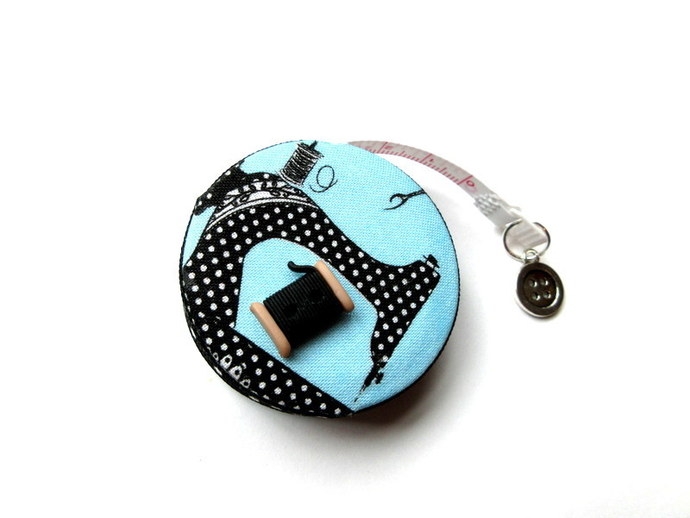 Measuring Tape Dotted Sewing Machines and Supplies Small Retractable Tape