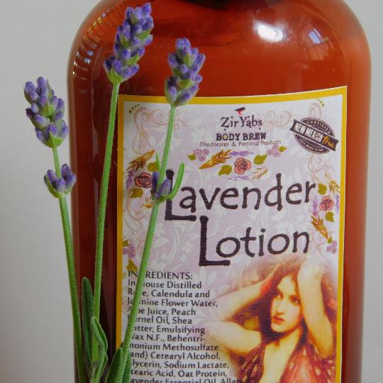 Lavender Lotion made with Lavender, Rose  Calendula Petal Tea, Jasmine Wax, Oat