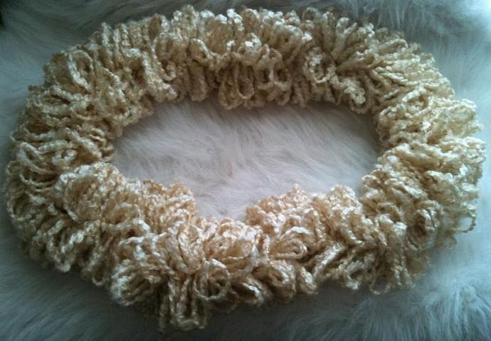 Shaggy Loop Nest Cloud - Creamy Natural
