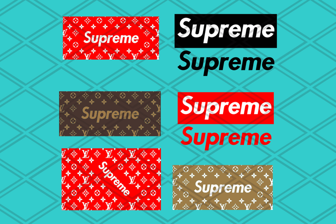 Supreme svg, Supreme pattern svg, Louis Vuitton Pattern , Silhouette Digital
