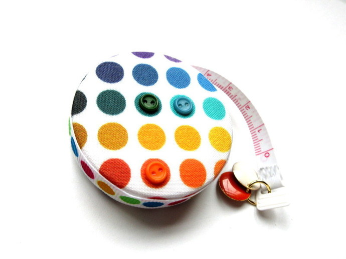 Tape Measure Just Dots Small Retractable Measuring Tape