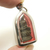 Guan yin goddess of mercy blessed 1970s Quan im Chinese brass pendant amulet