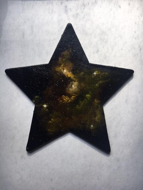 Nebula on star magnet 2019-8