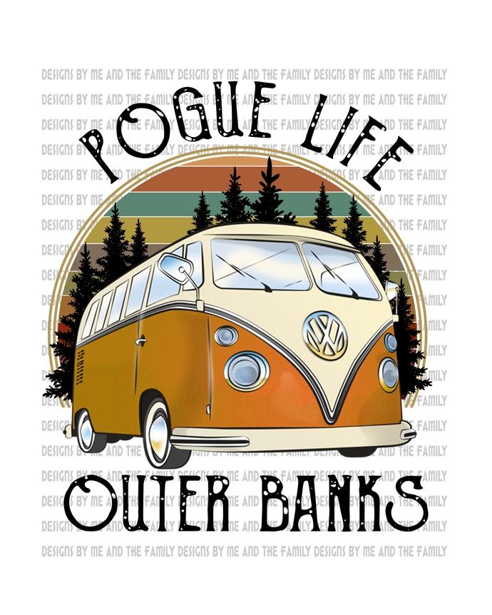 Pogue Life, water sports, Black, OBX, Carolina Life, peace love OBX, VW, peace