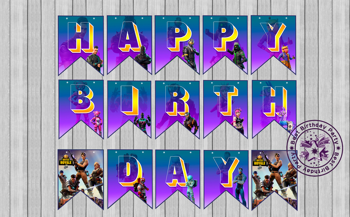 Fortnite Banner Fortnite Banner By Bestbirthdayparty On Zibbet First, you can only do this in solos, duos, or video guide on raising the banner. fortnite banner fortnite banner printable fortnite banner download happy birthday fortnite fortnite printable fortnite party supplies