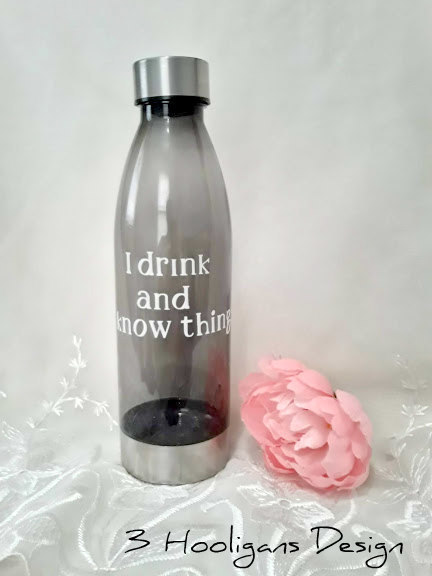 Water Bottle Know Things