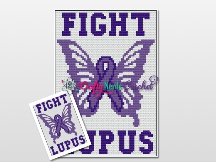 Fight Lupus Pattern Graph With C2C Written