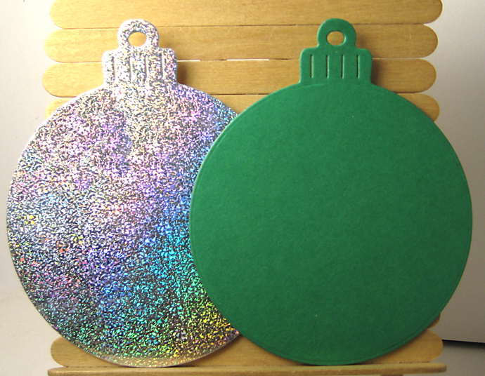 Large Christmas Ornament Cutting Die Xmas Bulb