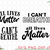 4 files All lives matter svg | I can't breathe svg | Bundle svg, png, jpeg, eps