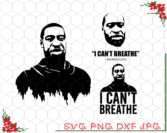 3 files I'm not a threat, Dont killing black people, I can't Breathe
