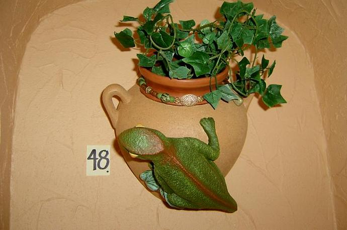 E-P-48 - CHAMELEON WALL PLANTER-Right