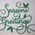 Seasons Greetings Style #2 Paper Cutting Die