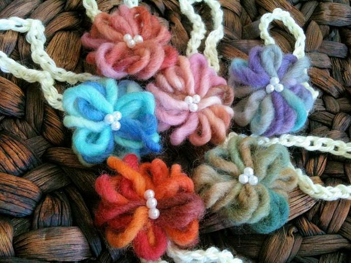Newborn Bitty Bloom Headband Variety 5  pack