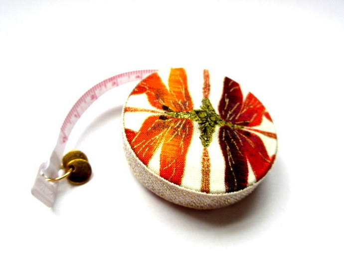 Tape Measure Gold Dragonflies Small Retractable Measuring Tape