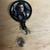 Handmade bellatrix badge reel, Harry Potter badge reel