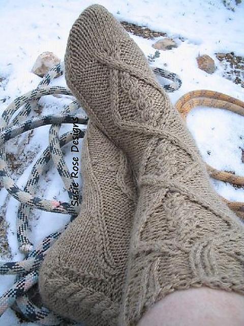 Yeti Sock Pattern