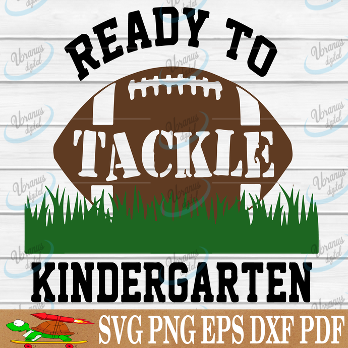 Ready to tackle kindergarten SVG Files For Silhouette, Files For Cricut, SVG,