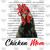 Chicken Mom with Cute Headband PNG