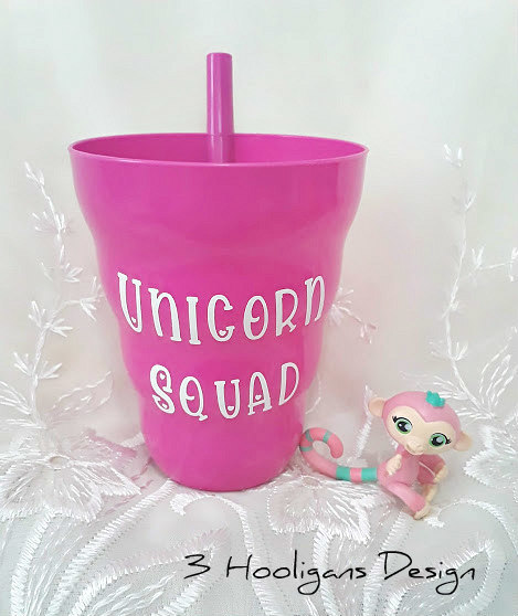 Kids Sippy Cup Unicorn