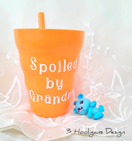 Kids Sippy Cup Spoiled