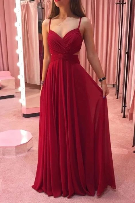 Simple Prom Dress, Prom Dresses, Evening Dress  M815